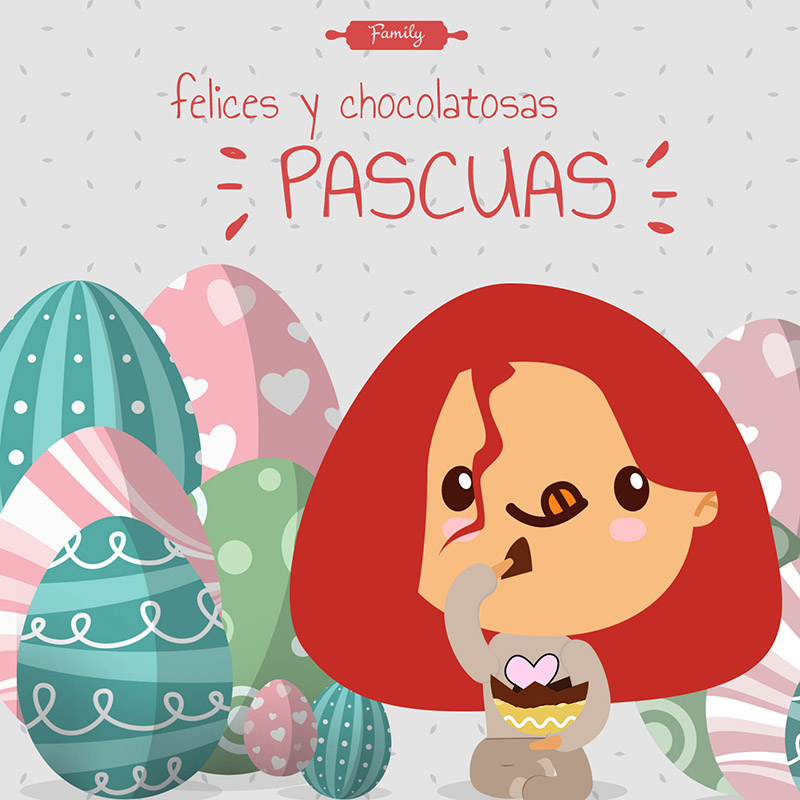 Felices y chocolatosas pascuas